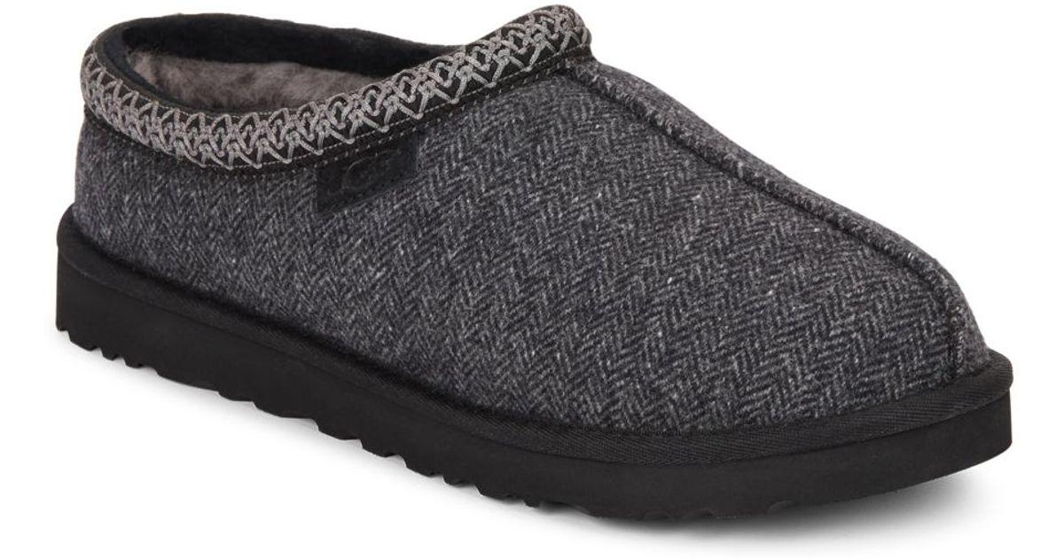 53d8a7d60f4 Lyst - UGG Tasman Tweed Slippers in Black for Men
