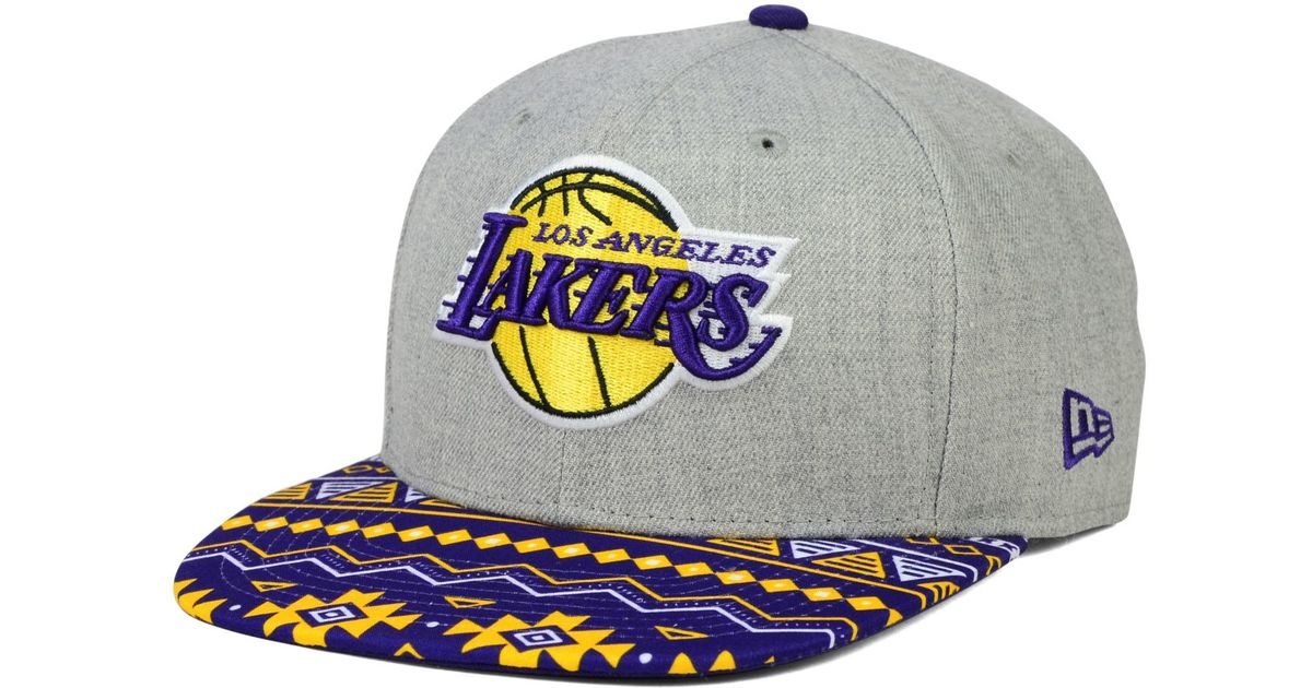 947696451 KTZ - Multicolor Los Angeles Lakers Neon Mashup 9fifty Snapback Cap for Men  - Lyst