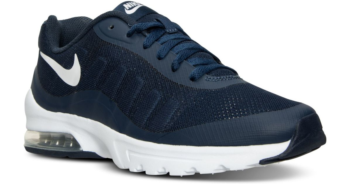 0f5b46ae02 ... closeout lyst nike mens air max invigor running sneakers from finish  line in blue for men