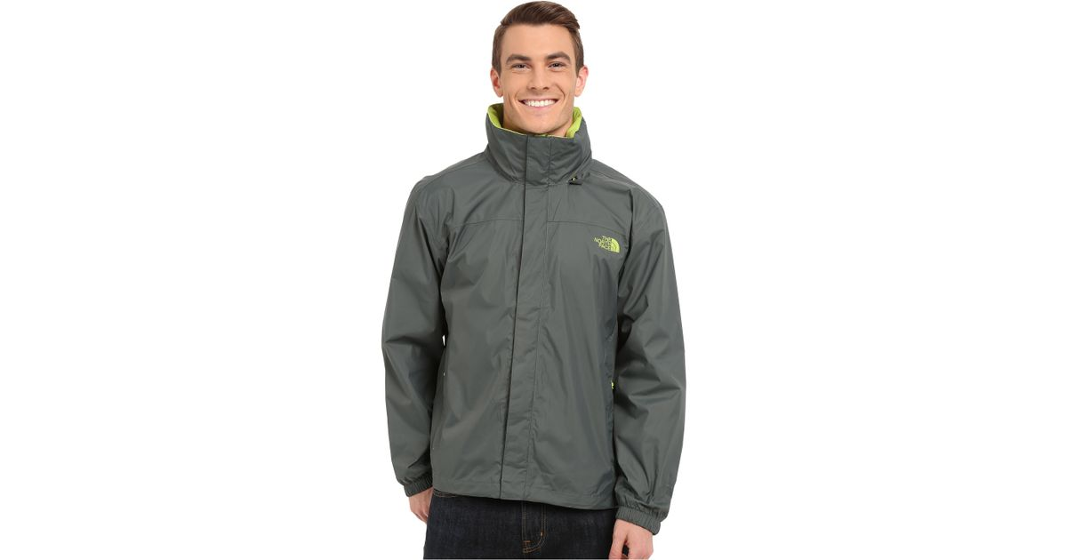 The North Face Resolve Jacket In Green Spruce Green Macaw