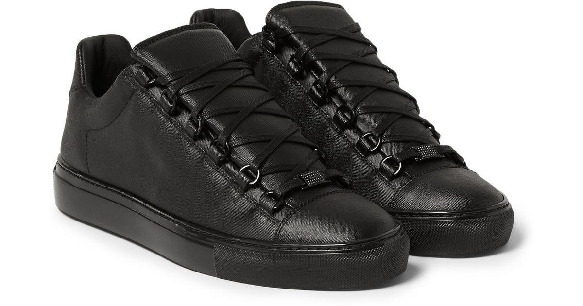 balenciaga low top black