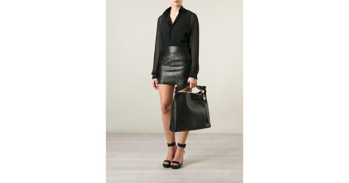 f15f4f1b8a4cc Lyst Tom Ford Alix Medium Clutch Bag In Black