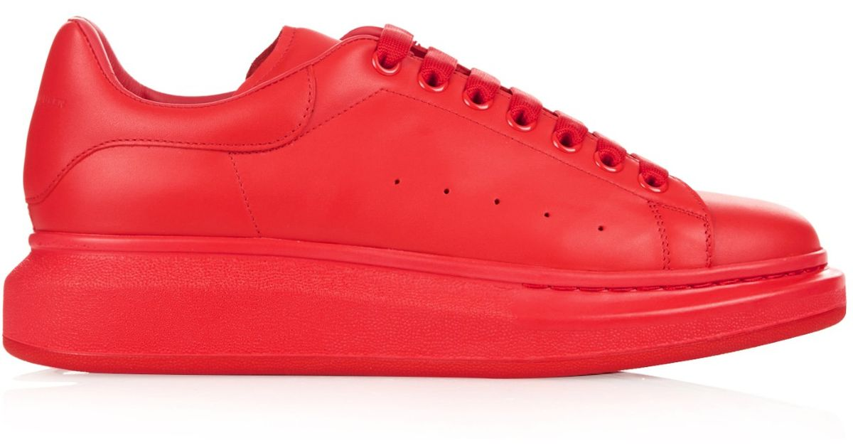 Top Sneakers in Red for Men - Lyst