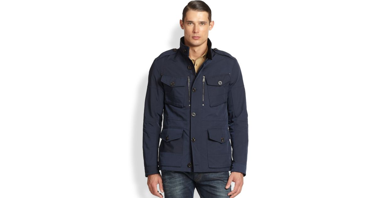 It is a picture of Bewitching Ralph Lauren Black Label Commander Jacket