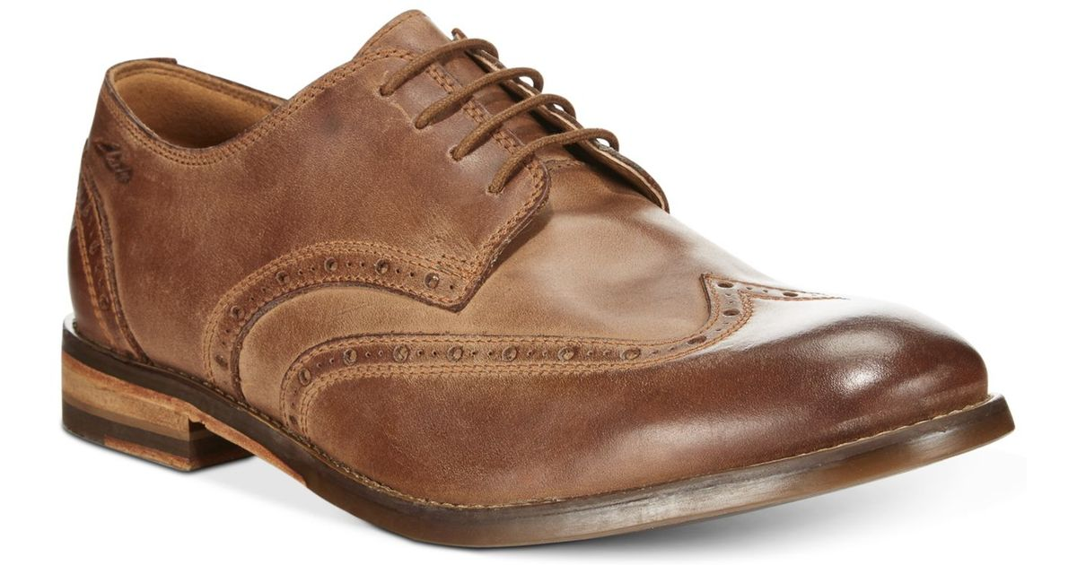 65915e2101b7 Lyst - Clarks Men s 1825 Tor Collection Exton Brogue Wing Tip Lace Up Shoes  in Brown for Men
