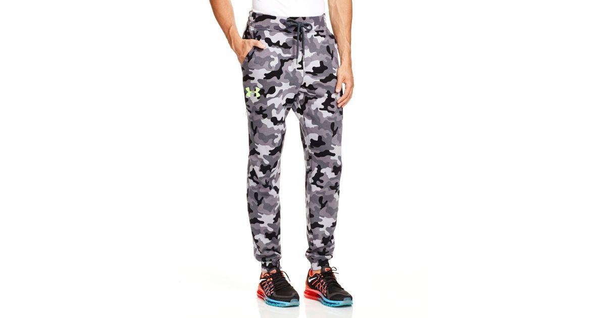 Najnowsza buty temperamentu przed Sprzedaż Under Armour Gray Rival Jogger Pants for men