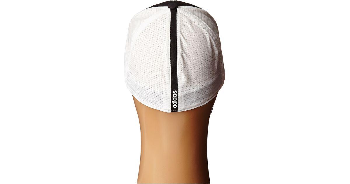 551296b3402 Lyst - adidas Originals Lightweight Climacool® Flexfit Hat in Black for Men