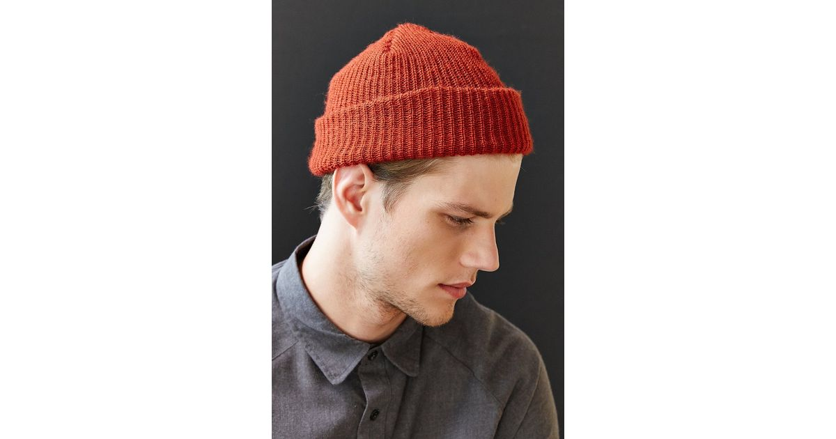 Lyst - Urban Outfitters Brushed Beanie in Red for Men 92f7341fbf42