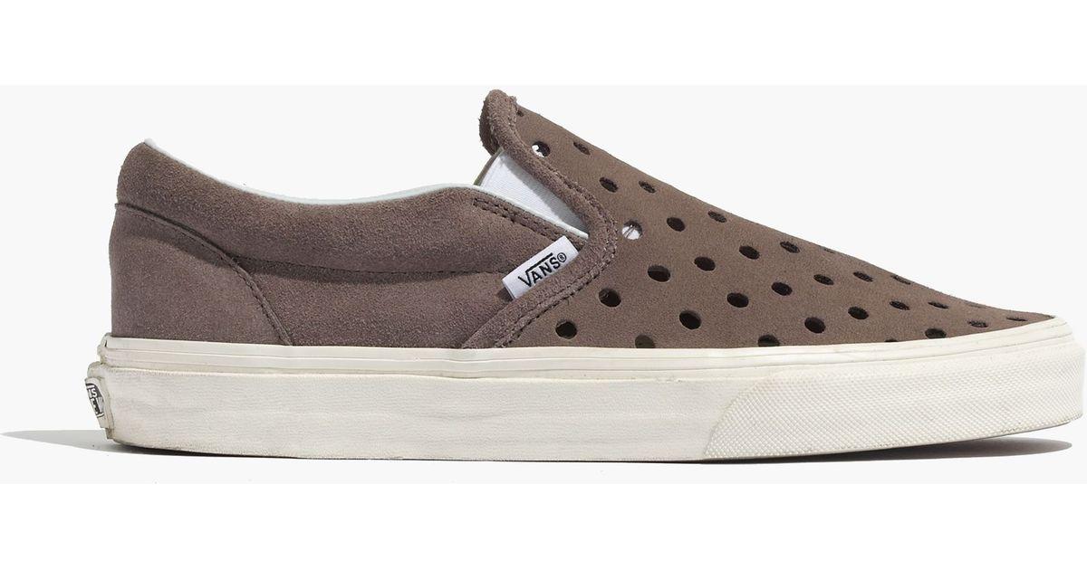 vans grey and brown