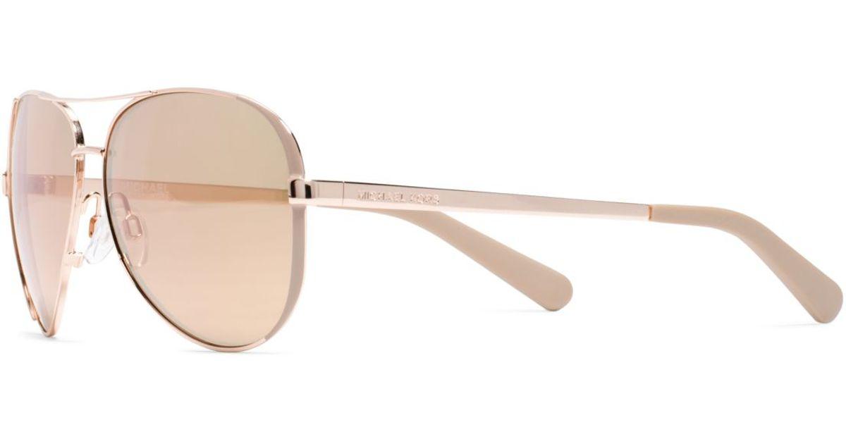 086fa1efc2 Michael kors Chelsea Sunglasses in Pink (ROSE GOLD)