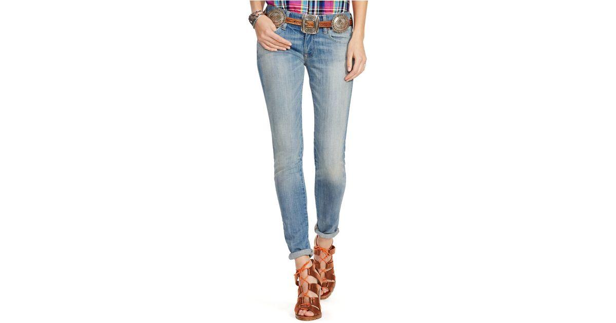98db2fef58 Polo Ralph Lauren Blue Tompkins Skinny Jeans