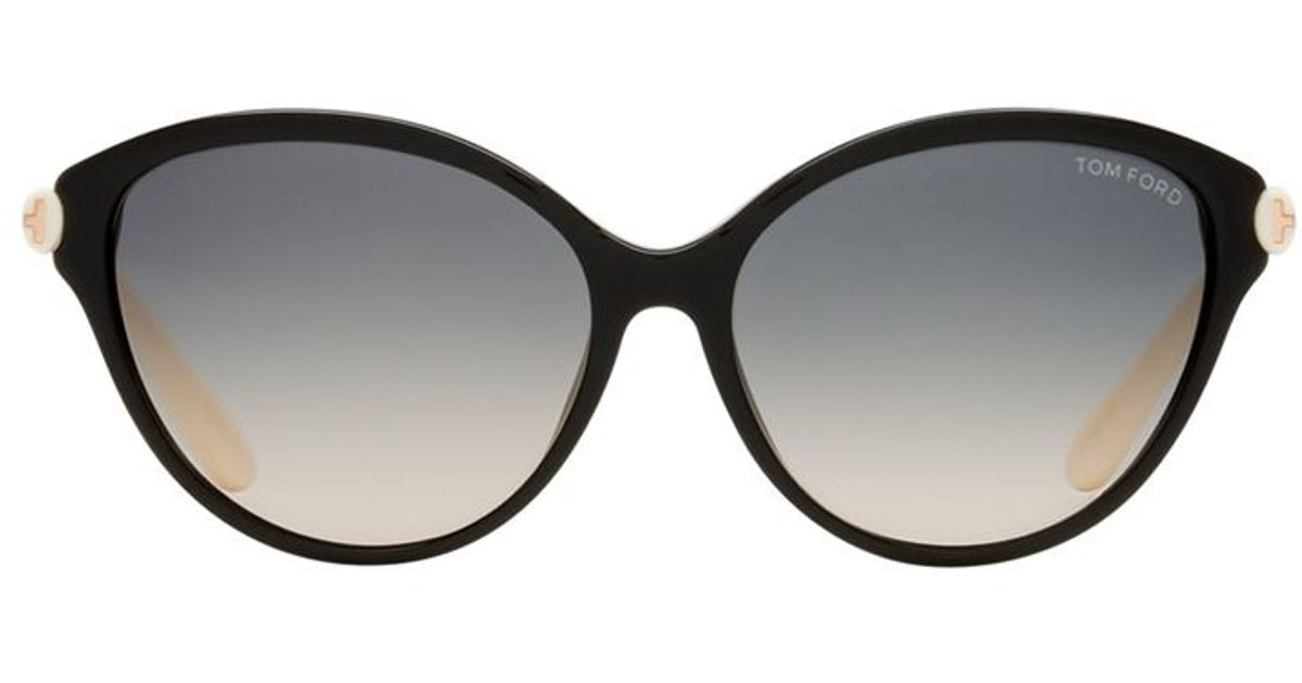 tom ford priscilla cat eye sunglasses in black lyst. Cars Review. Best American Auto & Cars Review