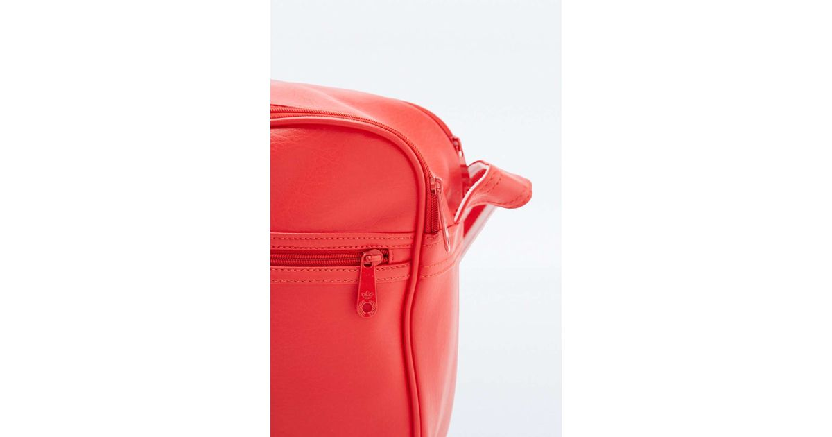 5d888f883ca0 adidas Originals Classic Red Airliner Bag in Red - Lyst