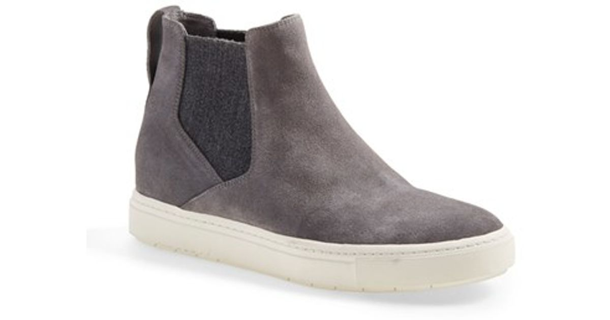 Vince Newlyn Suede Pull-On High-Top