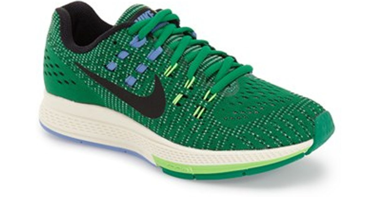 6aaa687e5aa Lyst - Nike  air Zoom Structure 19  Running Shoe in Green