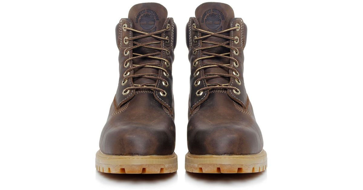 top quality speical offer hot sales Timberland Brown Heritage 6-inch Premium Waterproof Boots for men