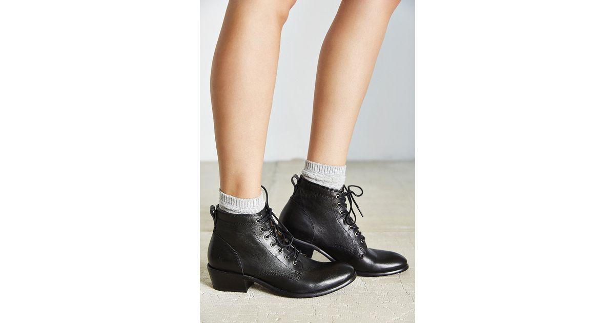 169f72b906b Frye Black Carson Lace-up Boot