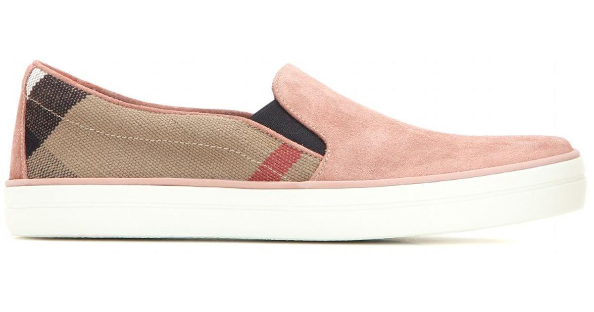 Burberry Brit Gauden Slip-on Sneakers