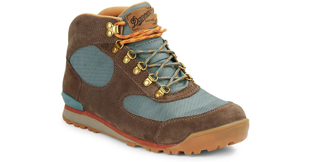Lyst Danner Jag Colorblocked Hiking Boots In Blue For Men