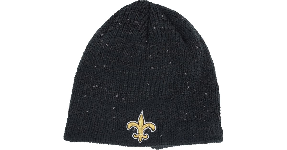 1c116589721ffe Lyst - KTZ Women's New Orleans Saints Glistener Knit Hat in Gray