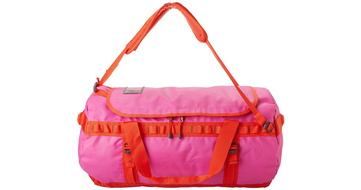 27c0ef504 The North Face Pink Base Camp Duffel Large