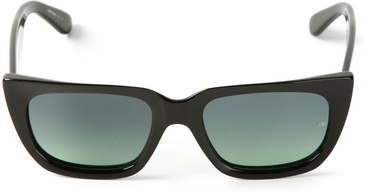 3a8f46083e9f Lyst - Oliver Goldsmith Kolus Sunglasses in Black for Men