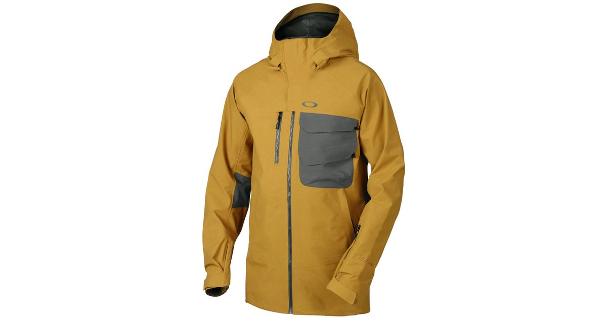 ee38a1c6bf Lyst - Oakley Jake Blauvelt Gore-tex Snowboard Jacket in Natural for Men