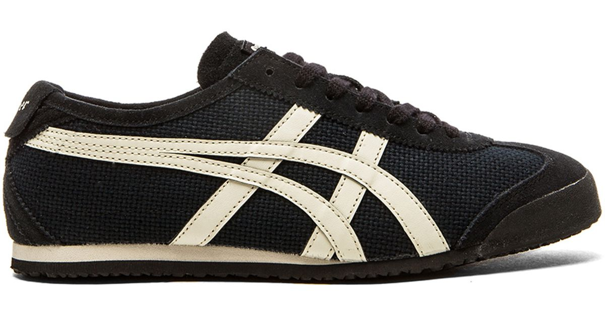 outlet store 7c9ea 19497 Onitsuka Tiger Black Mexico 66 Sneakers for men