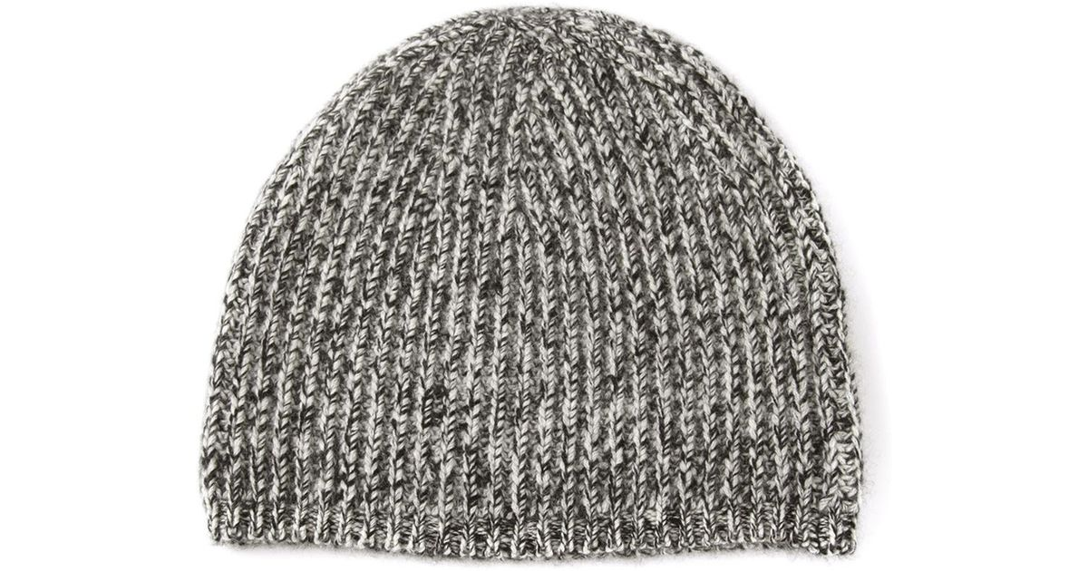 6e4d55fd052 Lyst - Denis Colomb Heavy Knit Cap in Gray for Men