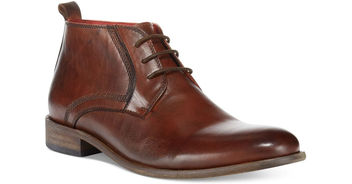 8640ce5a9f1 Steve Madden Brown Bronxxx Chukka Boots for men
