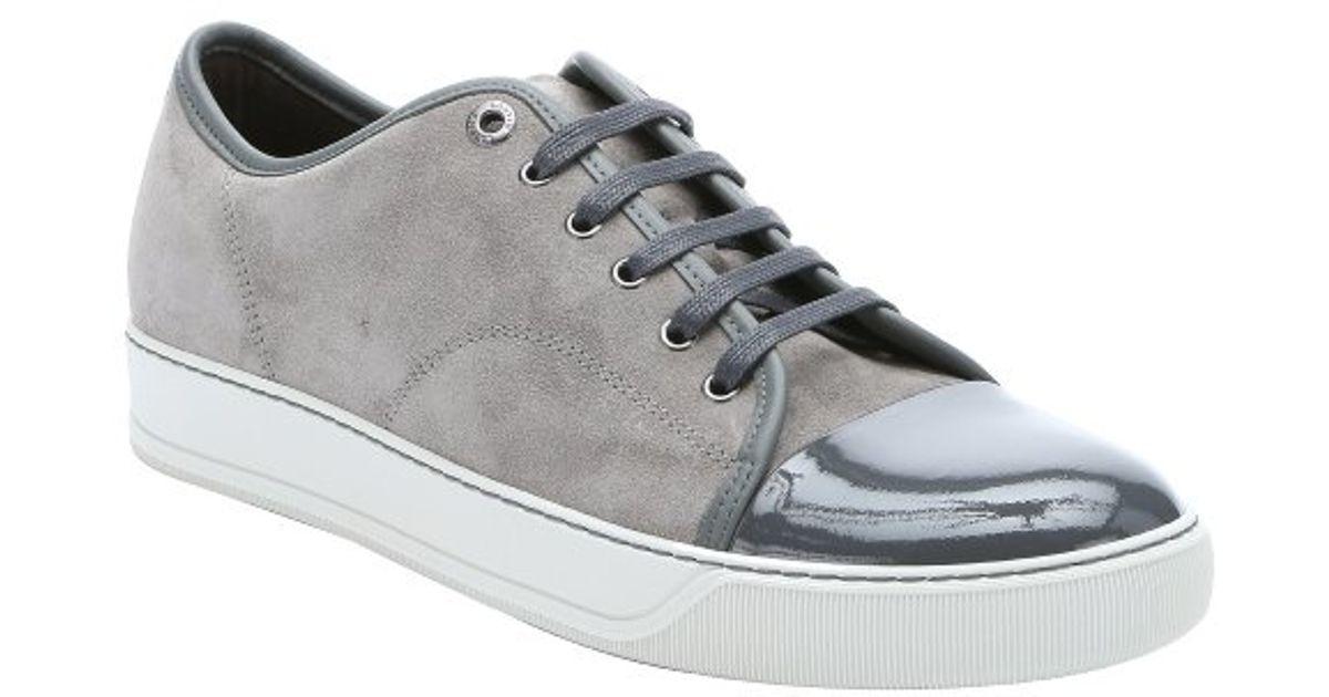 Lanvin Sneakers Plafonnés Orteil - Gris zoAun6N