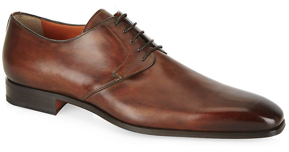 Charles Cap-toe Leather Oxford Shoes - BlackGeorge Cleverley