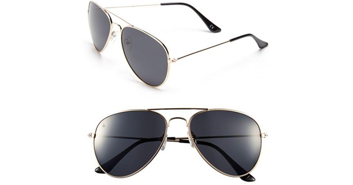 50284da828 Lyst - Blenders Eyewear  entrada - A Series  63mm Polarized Aviator  Sunglasses in Black for Men