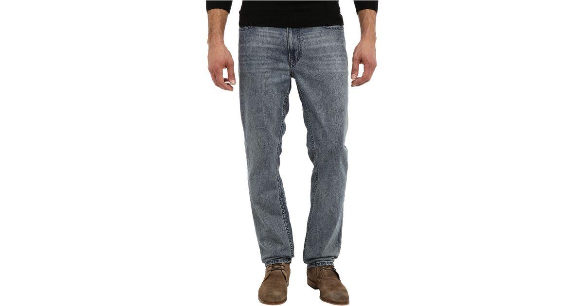 calvin klein jeans slim straight in chalked indigo in blue. Black Bedroom Furniture Sets. Home Design Ideas