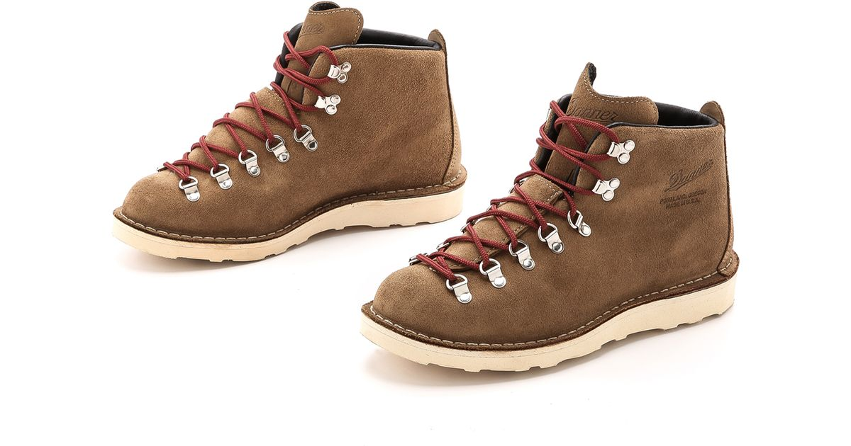 Danner Mountain Light Overton Boots In Brown For Men Lyst