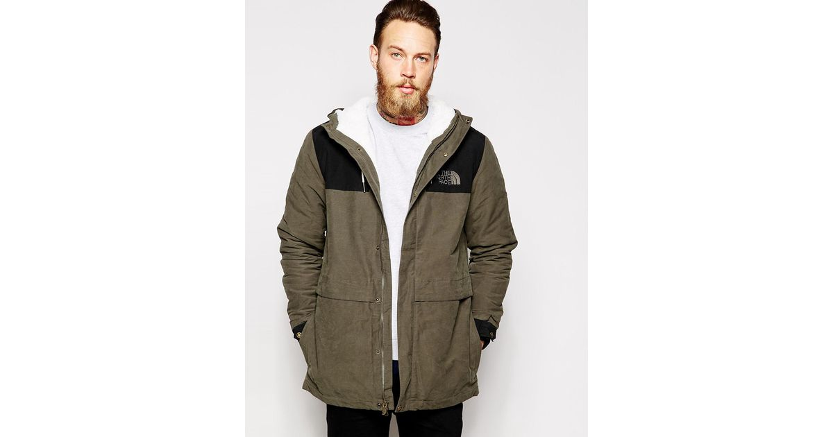 dc53c2265 The North Face Green 1985 Sherpa Mountain Parka for men