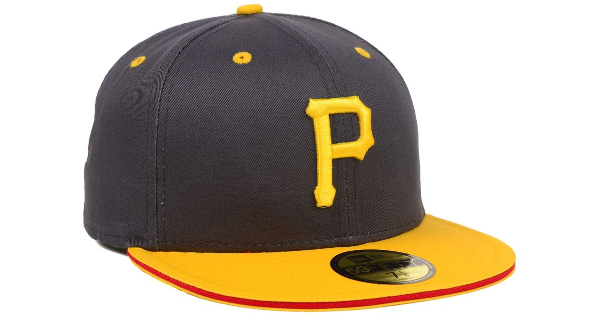sports shoes 80505 681f5 Lyst - KTZ Pittsburgh Pirates Mlb Opening Day 59fifty Cap in Blue for Men