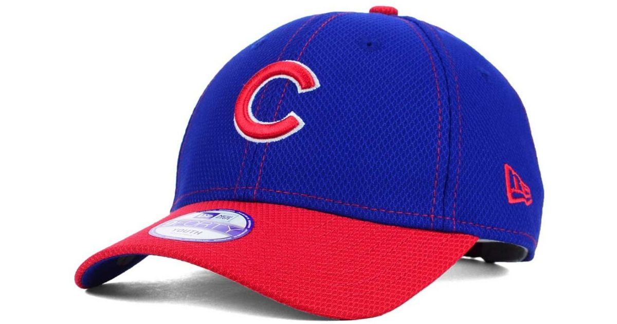 Lyst - KTZ Kids  Chicago Cubs 9forty Cap in Blue 603a8ab2dd5