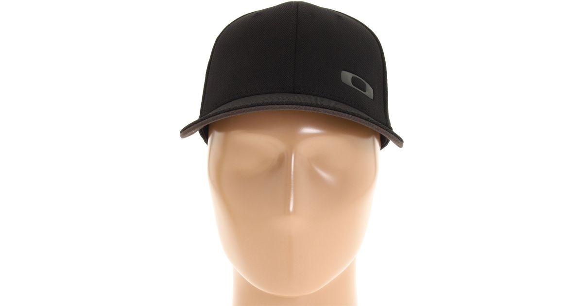 68803ce27a9 Lyst - Oakley Silicon O Cap 30 in Black for Men