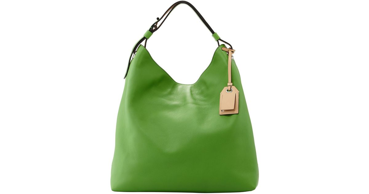 613dfe85ad38 Lyst - Reed Krakoff Rdk Leather Hobo Bag Green in Green