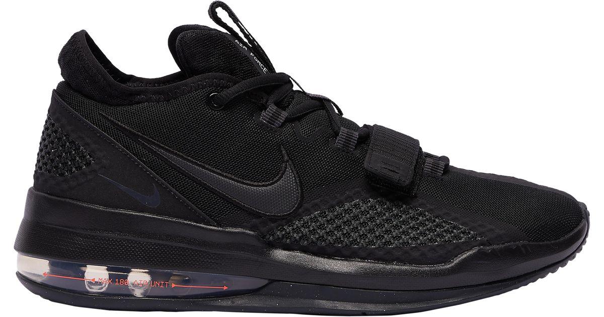 Nike Air Force Max Low in Black for Men
