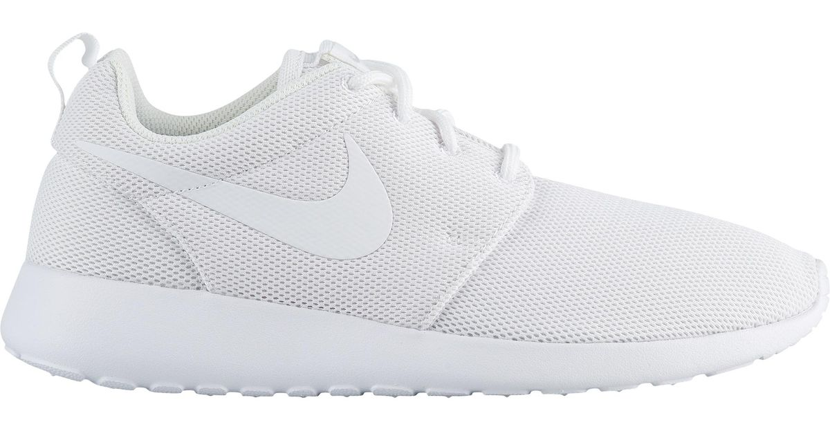 newest faf0a db563 Nike White Roshe One Running Shoes