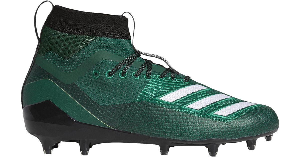 Molded Cleats Shoes in Dark Green