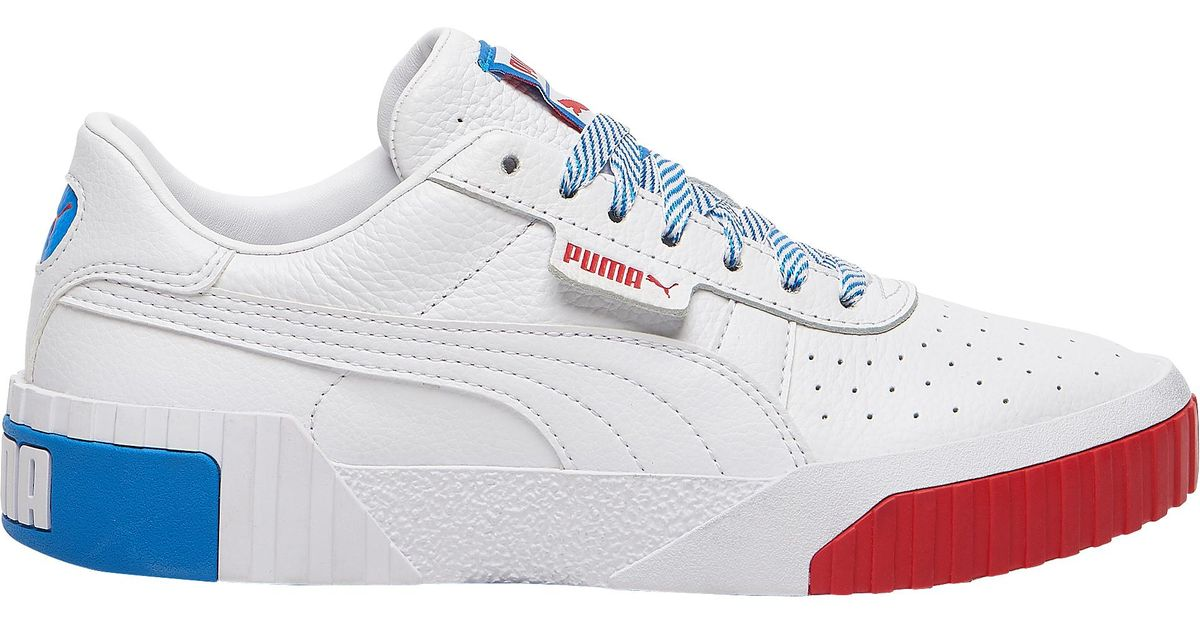 PUMA Leather Cali Training Shoes in