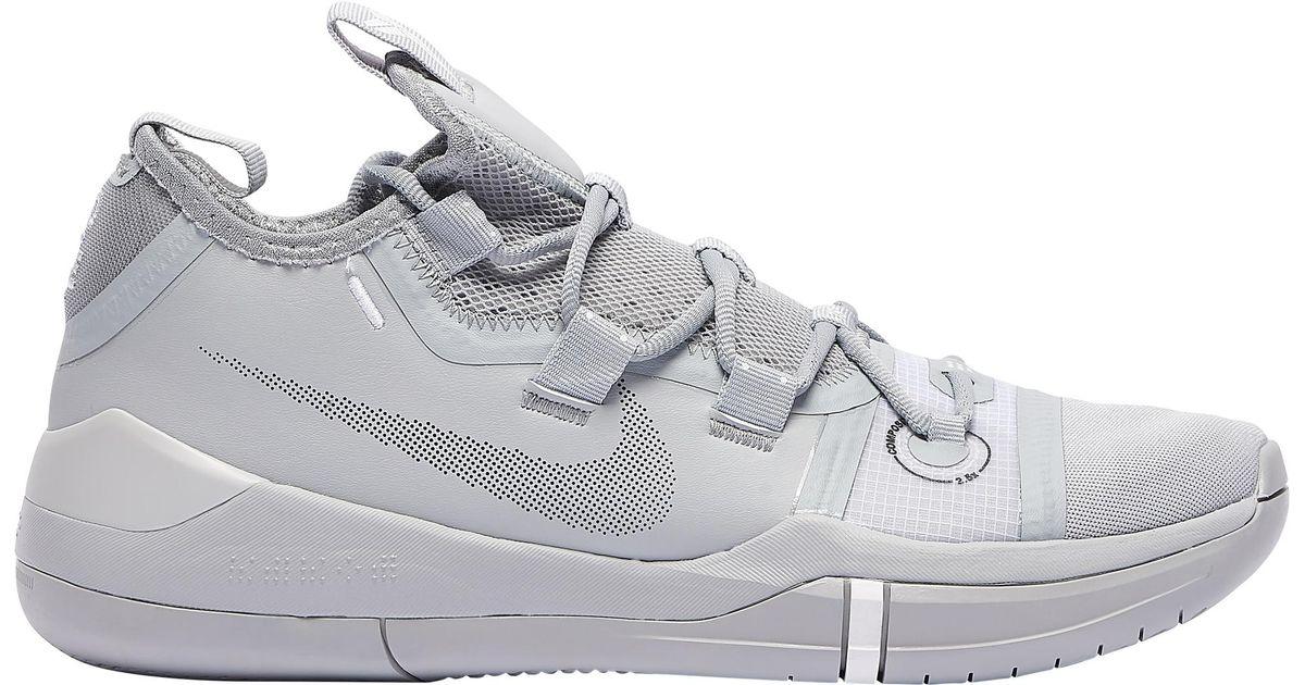 newest 69596 00e01 Nike Gray Kobe Bryant Kobe Ad for men