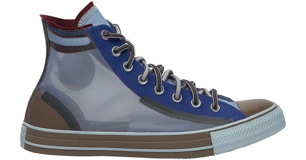 Converse Canvas All Star Hi in Blue for