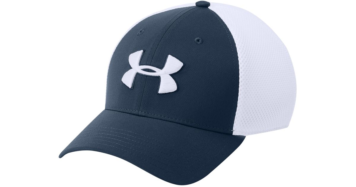 2b4d1b9e Under Armour Tb Classic Mesh Golf Cap in White for Men - Lyst