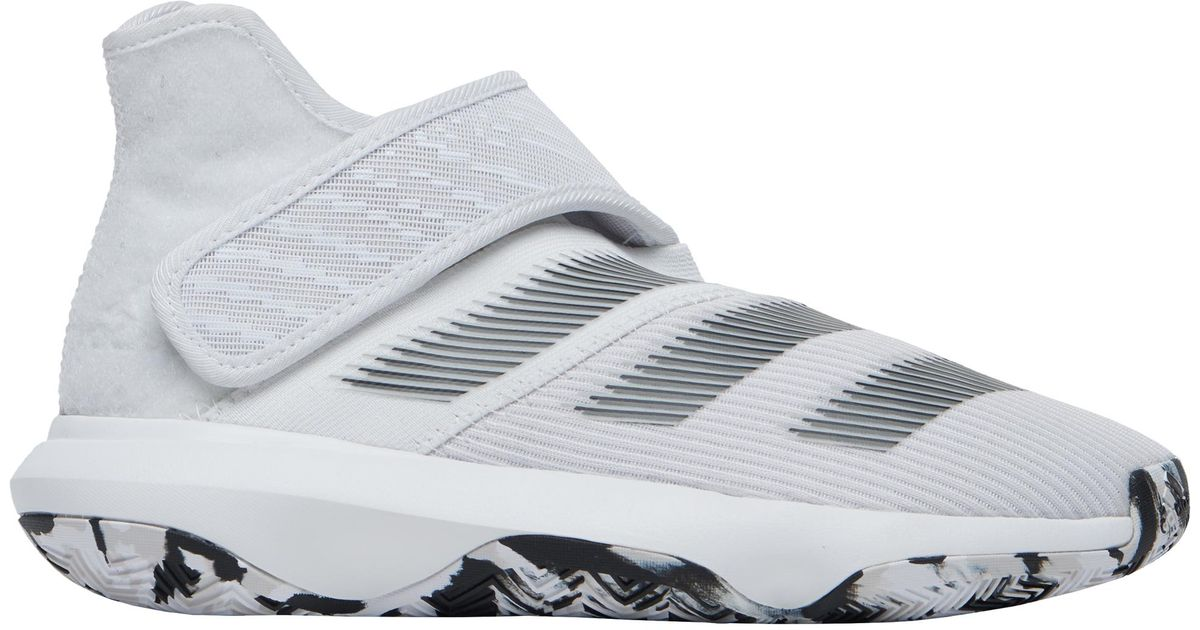 differently really comfortable 50% price adidas Rubber Harden B/e 3 Basketball Shoes in White for Men - Lyst