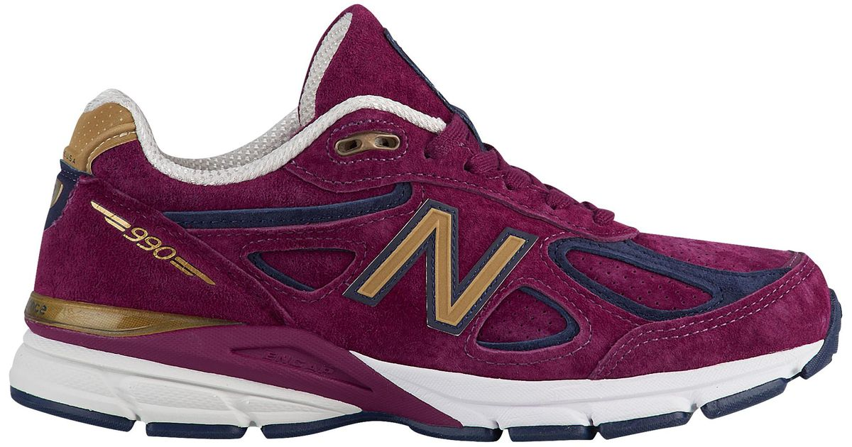 online store a9728 56be5 New Balance Purple 990 Running Shoes