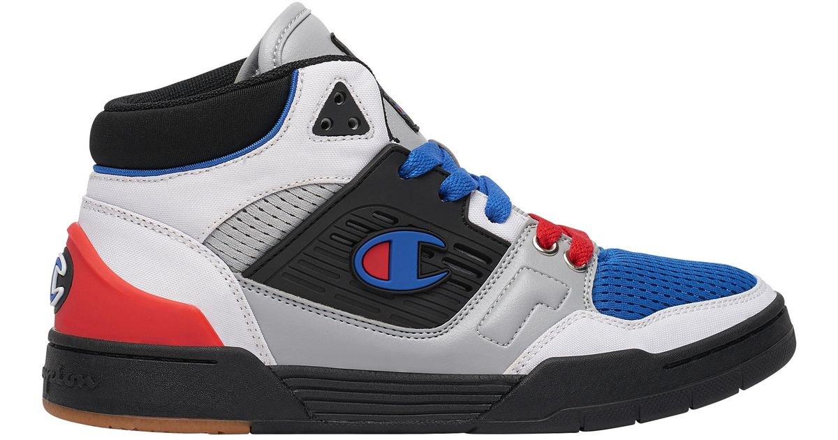 Champion Black 3 On 3 Basketball Shoes for men